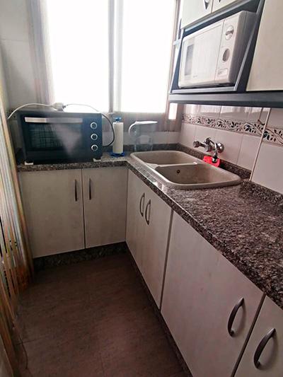 Se vende piso con terraza en Santa Rosa. - Cocina 1