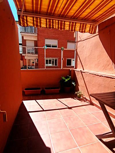 Se vende piso con terraza en Santa Rosa. - Terraza 2