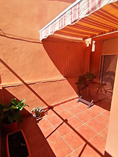 Se vende piso con terraza en Santa Rosa. - Terraza 1