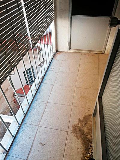 Se vende piso a buen precio en Santa Rosa. - Balcón 1