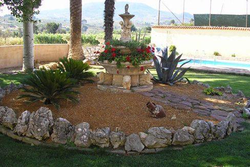 Casa de campo hermosa a la venta. - jardín 1