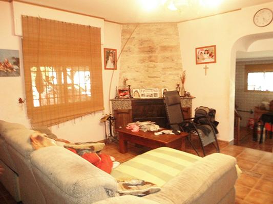 Bonita casa de campo con sauna a la venta. - Salon-comedor 1