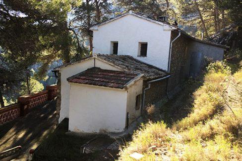 Casa de campo con hermosas vistas. - Fachada 3