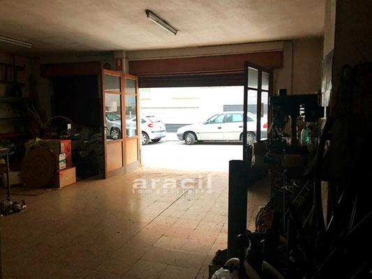 Local cochera/taller a la venta en Santa Rosa, Alcoy. - Garaje Taller 2