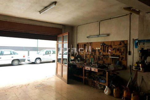 Local cochera/taller a la venta en Santa Rosa, Alcoy. - Garaje Taller