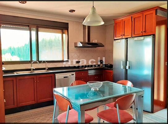 Bonito chalet de 8 habitaciones a la venta en Muro de Alcoy. - Cocina