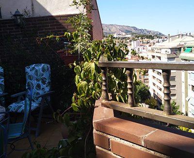 Gran ático en Santa Rosa a la venta. - Terraza 4