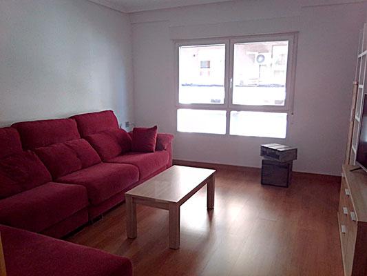 Bonito piso a buen precio en la Zona Alta, Alcoy. - Salon