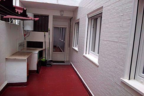 Bonito piso a buen precio en la Zona Alta, Alcoy. - Patio