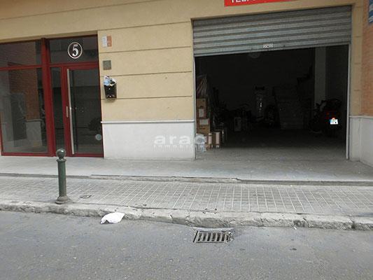 A la venta local comercial en Zona Alta - Alcoy. - Exterior