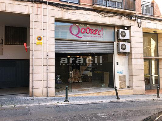 Local comercial/peluqueria a la venta en Santa Rosa. - Exterior