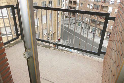En venta bonito piso con hermosas vistas en Santa Rosa. - balcon1