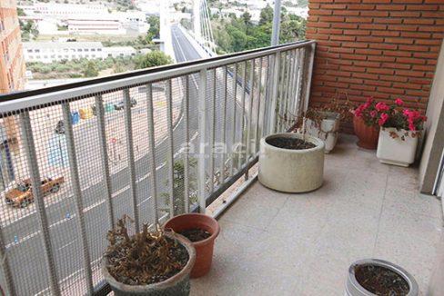 En venta bonito piso con hermosas vistas en Santa Rosa. - balcon2